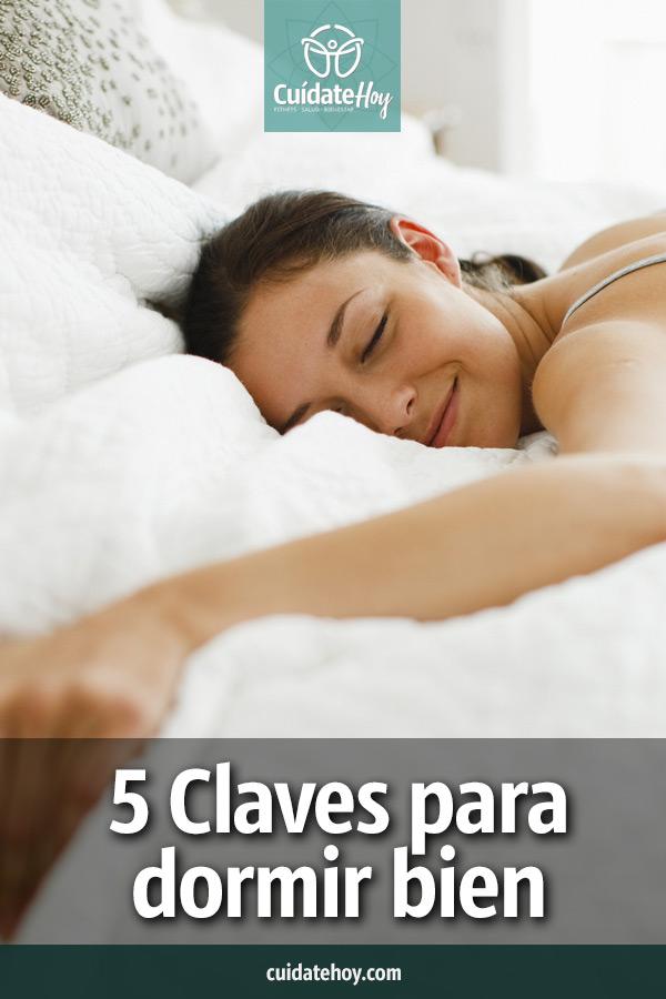 5 claves para dormir bien