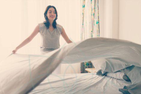 Los beneficios de tender tu cama