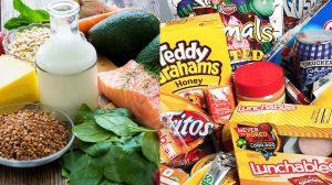 Despídete de los alimentos procesados