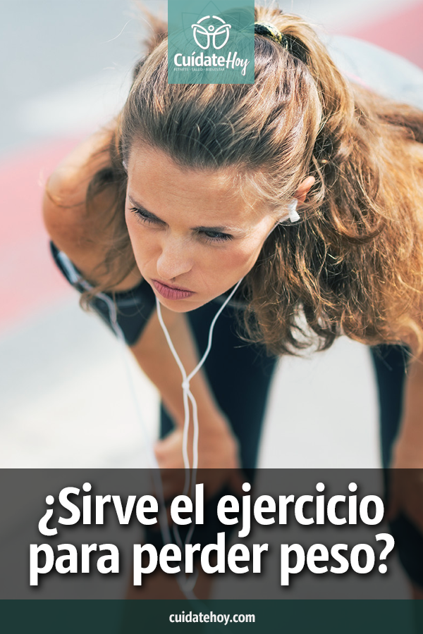 ¿Sirve el ejercicio para perder peso?