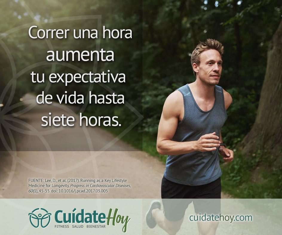 Correr te ayuda a vivir más