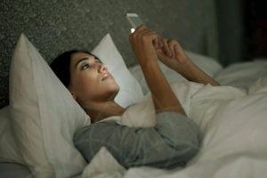 Las pantallas no nos dejan dormir