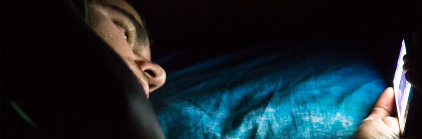 El telefono no te deja dormir