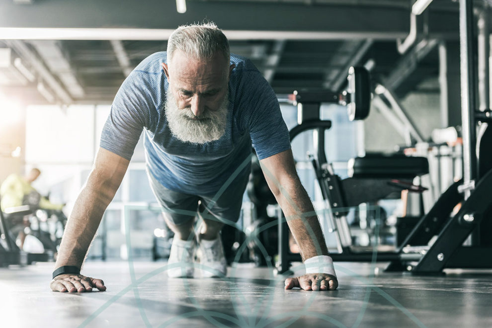Desarrollar músculo después de los 50