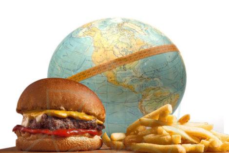 La obesidad le cuesta al planeta
