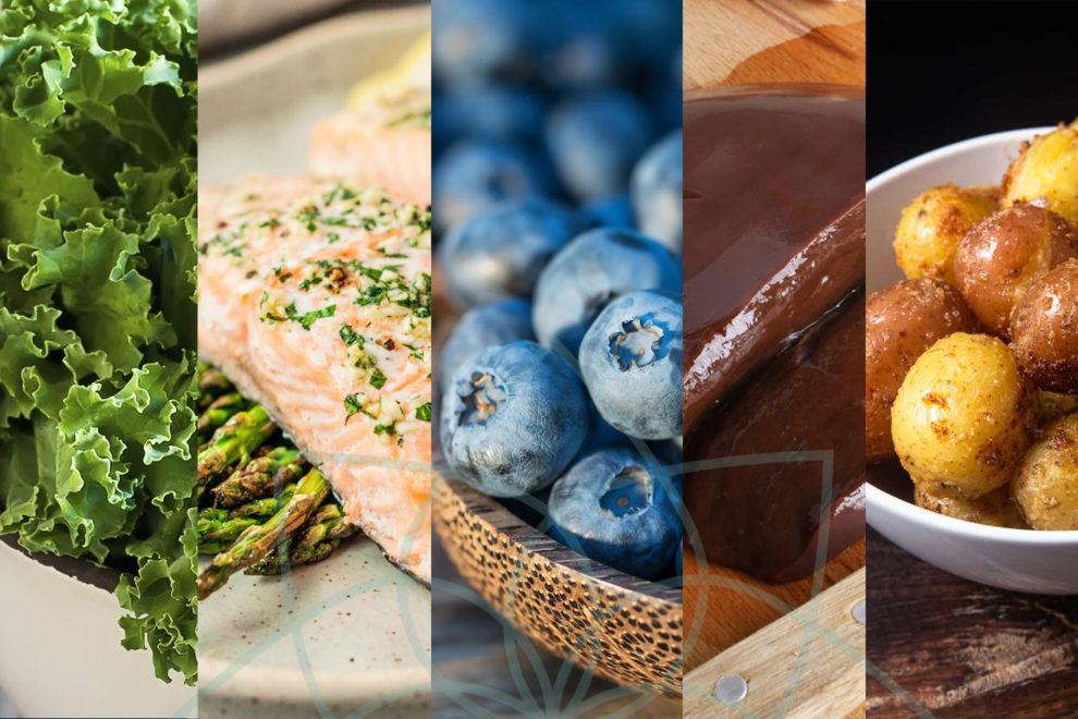 Cinco Alimentos Nutritivos