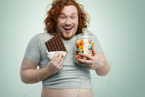 El azucar se convierte en grasa