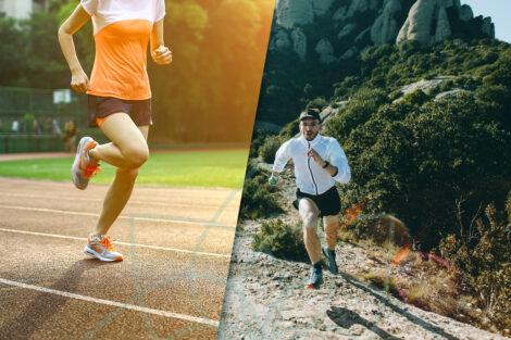 Correr velocidad o distancia