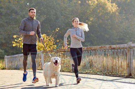 Correr con tu perro