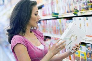 Los consumidores no entienden las etiquetas nutrimentales