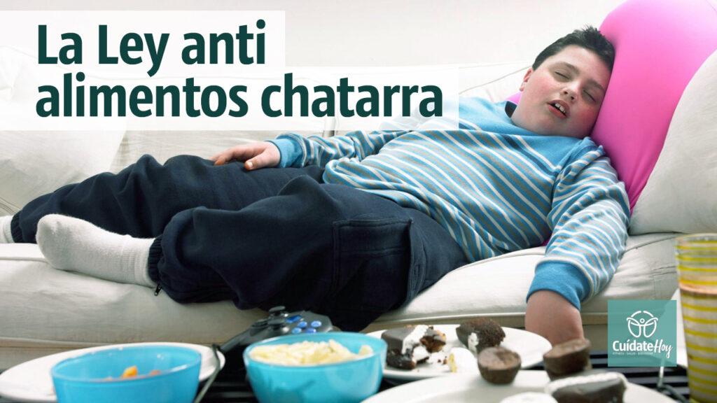 La ley anti alimentos chatarra